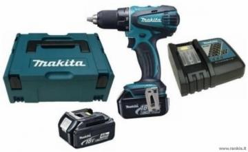 Cordless drill screwdriver MAKITA DDF456RMJ 18V Cordless drills screwdrivers