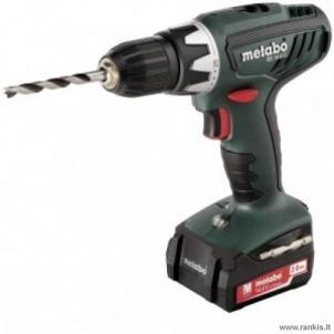 Cordless drill screwdriver METABO BS 14.4 LI, 13MM 2,0 AH Cordless drills screwdrivers