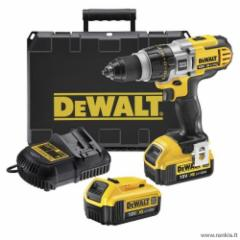 Cordless drill screwdriver with forging function DEWALT 18 V XR Li-Ion