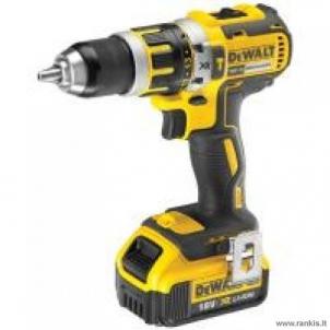 Cordless drill - Impact drill DEWALT DCD795P2 18V; 5.0 Ah; XR Li-Ion