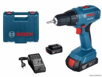 Cordless drill screwdriver BOSCH GSR 1800-Li