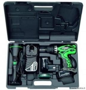 Cordless drill screwdriver HITACHI DS12DVF3 1,4 Ah