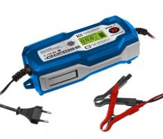 Akumuliatorių kroviklis su mikroprocesoriumi DEDRA DEPM020LFP, 6/12V 3-120AH Battery chargers
