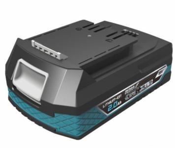 Akumuliatorius DEDRA DED7032 SAS+ALL LITHIUM-ION, 18V, 2AH Tool batteries and chargers