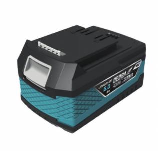 Akumuliatorius DEDRA DED7035 LITHIUM-ION 5.0 AH, 18V Tool batteries and chargers
