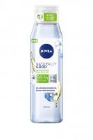 Aliejinė dušo želė Nivea Natura l ly Good Cotton Flower 300 ml Shower gel