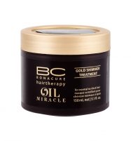 Aliejukas plaukams Schwarzkopf BC Oil Miracle Gold Shimmer Treatment Thick Hair Cosmetic 150ml Plaukų stiprinimo priemonės (fluidai, losjonai, kremai)