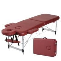 Aliumininis sulankstomas masažo stalas 2 dalių Spartan Bett Aluminum Masažo baldai