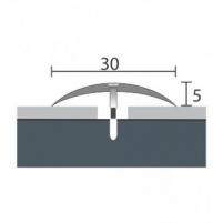 Aluminium profile    P3 MAXI 90 cm siver