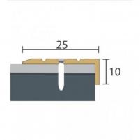 Aliuminio profilis P31 MAXI 93 cm aukso spalvos