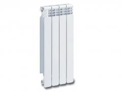 Aliuminio radiatorius HELYOS EVO 500, RAL 9016 The aluminium radiators