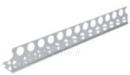 Aliuminis kampas 23X23 2,6m Profiles (plastering, plastering, plaster board)