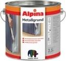 Alkidinis gruntas Alpina Metallgrund pilkos spalvos 0,75 ltr. Statybiniai gruntai