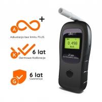 Alkomat ALKOHIT X50 - 3 lata gwarancji na sensor Biznesa dāvanas