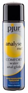 Analinis lubrikantas Pjur - Analyse Me Comfort water anal glide 100ml Anal lubes