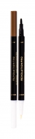 Antakių pieštukas Makeup Revolution London Revolution PRO Ash Brown Day & Night Brow Pen Eyebrow Pencil 1,6ml Akių pieštukai ir kontūrai