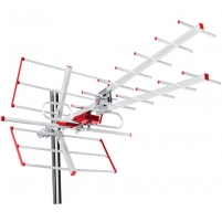 Antena Maclean MCTV-855A External antenna TV DVB-T Combo UHF VHF active max 100dBuV Tv antenna