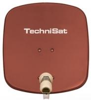Antena TechniSat TV Sat DigiDish 45 Single Plytų raudonumo spalva