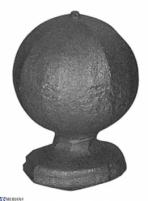 Nozzle circular 30 rutulys apkaltas, L07SH012 Wrought metal nozzles