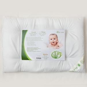 Antialerginė pagalvė kūdikiui Aloe Vera, 40x60 cm Pagalvės