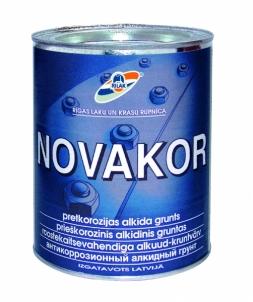 Antikorozinis alkidinis gruntas Novakor 0,9 l. Statybiniai gruntai