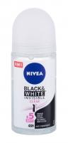 Antiperspirantas Nivea Invisible For Black & White 48h Antiperspirant 50ml Clear Dezodorantai/ antiperspirantai