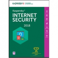 Antivirusinė programa Kaspersky Internet Security Multi-Device 2018, New licence, 1 year(s), License quantity 2 user(s), BOX Antivirusinė programinė įranga
