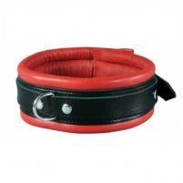 Antkaklis Vergė (raudona/juoda) Kaklariņķus