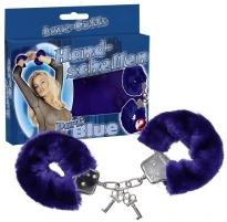 Antrankiai Handcuffs Love Cuffs blue Roku dzelžus