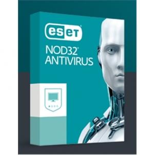 Antvirusinė programa Eset NOD32 Antivirus, New electronic licence, 2 year(s), License quantity 1 user(s) Antivirusinė programinė įranga