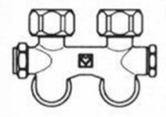 Bottom connection node dual-tube system K.