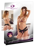 Apatinių komplektas Close2You top + slip (M/L) A bra and panties sets