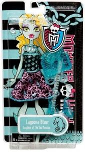 Apranga Mattel Barbie y0397 / y0399 Lagoona Blue Monster High Toys for girls