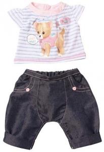 Apranga su muzika 817612 Zapf Creation Baby born Šuniukas Toys for girls