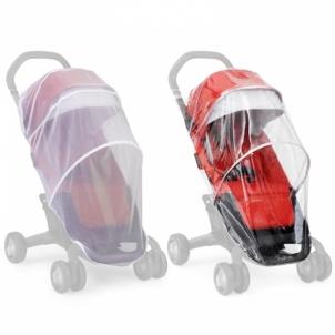 Apsauga nuo lietaus PEPP Rain Cover+Insect Net Vežimėliai vaikams ir jų priedai