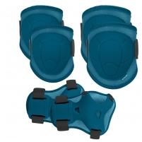 Apsaugų komplektas BUFFER tamsiai mėlyna sp., S dydis Bicycle and roller guards