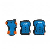Apsaugų komplektas Nerf ARMOR mėlynas, M dydis Bicycle and roller guards