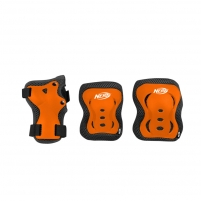 Apsaugų komplektas Nerf ARMOR oranžinis, L dydis Bicycle and roller guards