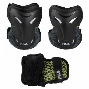Apsaugų rinkinys Adult FP Gears black/lime L