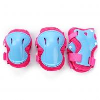 Apsaugų rinkinys METEOR ULTRA pink-blue, Dydis L