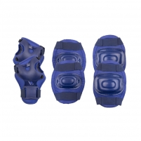 Apsaugų rinkinys Spokey AEGIS, mėlyna Bicycle and roller guards