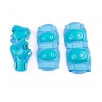 Apsaugų rinkinys Spokey AEGIS, šviesiai mėlyna Velosipēdu un rullīšu aizsargi