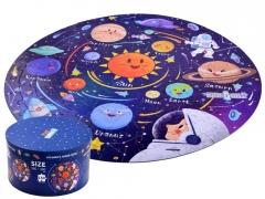 """Apvali dėlionė """"Kosmosas"""", 150 dalių"""