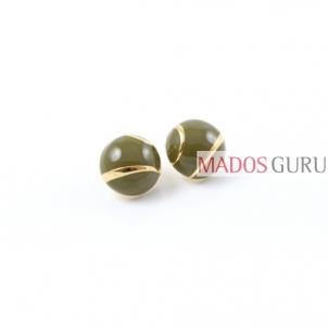 Round earrings A2801 Earrings