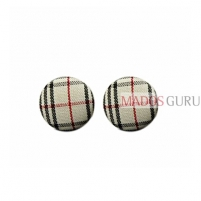 Round earrings A547