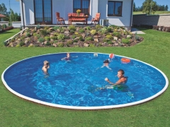Round outdoor pool DeLuxe 402DL Outdoor swimming pools