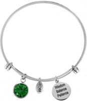 Apyrankė CO88 Bracelet for babies born in May 860-180-012029-0000
