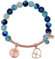 Apyrankė CO88 Bracelet with agate 865-180-050008-0000