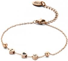 Apyrankė CO88 Steel bracelet I ♥ U 860-180-090055-0000