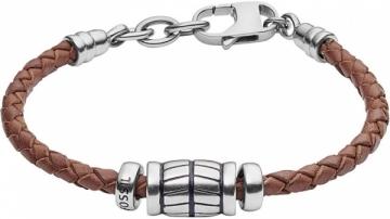 Apyrankė Fossil Men´s leather bracelet JF02686040